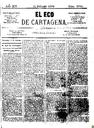 [Issue] Eco de Cartagena, El (Cartagena). 11/2/1874.