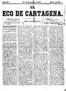[Issue] Eco de Cartagena, El (Cartagena). 10/11/1875.