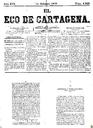 [Issue] Eco de Cartagena, El (Cartagena). 14/2/1876.