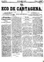 [Issue] Eco de Cartagena, El (Cartagena). 13/6/1876.