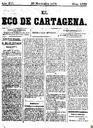 [Issue] Eco de Cartagena, El (Cartagena). 30/11/1876.