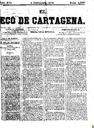 [Issue] Eco de Cartagena, El (Cartagena). 4/12/1876.