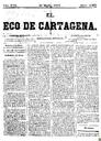 [Issue] Eco de Cartagena, El (Cartagena). 21/3/1877.