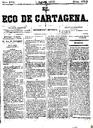[Issue] Eco de Cartagena, El (Cartagena). 1/8/1877.