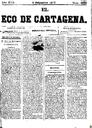[Issue] Eco de Cartagena, El (Cartagena). 5/9/1877.