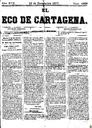 [Issue] Eco de Cartagena, El (Cartagena). 13/11/1877.