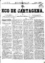 [Issue] Eco de Cartagena, El (Cartagena). 23/11/1877.