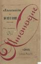 [Issue] Almanaque (Lorca). 1915.