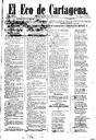 [Issue] Eco de Cartagena, El (Cartagena). 1/11/1887.