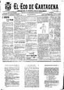 [Issue] Eco de Cartagena, El (Cartagena). 10/1/1901.