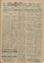 [Issue] Tarde, La (Lorca). 18/7/1931.