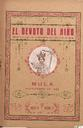 [Issue] Devoto del Niño, El (Mula). 9/1928.