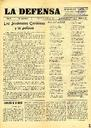 [Issue] Defensa, La. Semanario católico (Yecla). 31/1/1931.