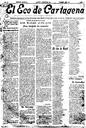 [Issue] Eco de Cartagena, El (Cartagena). 14/9/1920.