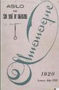 [Issue] Almanaque (Lorca). 1920.
