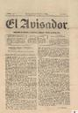 [Issue] Avisador, El (Murcia). 22/10/1868.