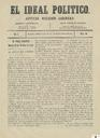 [Issue] Ideal político, El (Murcia). 20/10/1871.