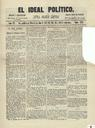 [Issue] Ideal político, El (Murcia). 2/10/1874.