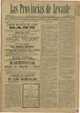 [Issue] Provincias de Levante, Las (Murcia). 26/10/1891.